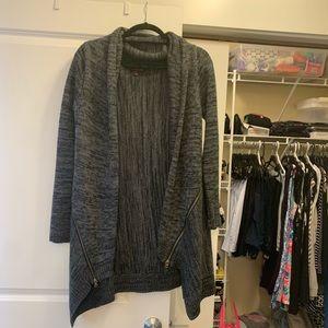 Grey comfy cardigan!